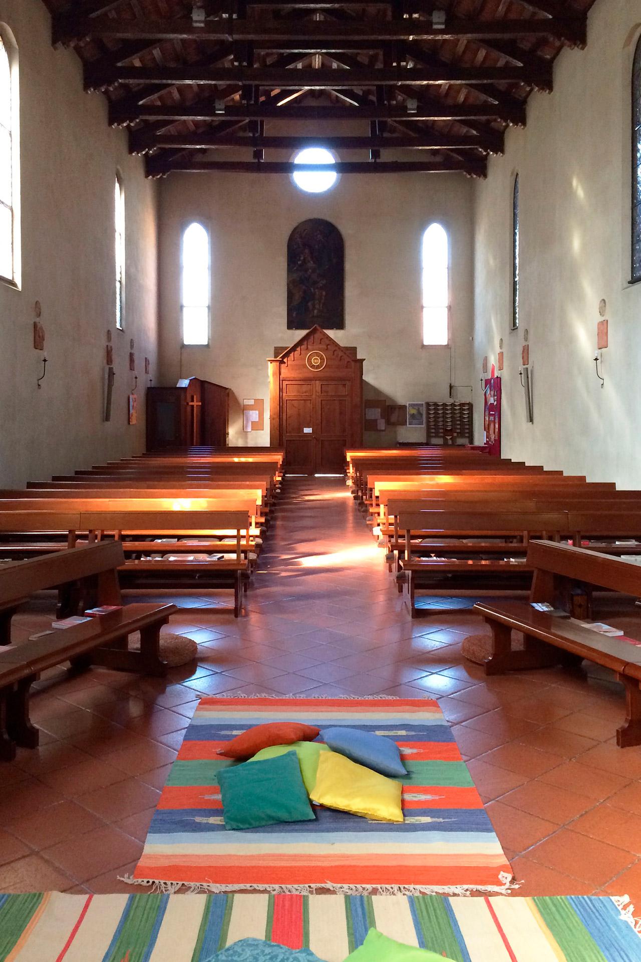 San Pietro Viminario_Interno della chiesa di San Pietro