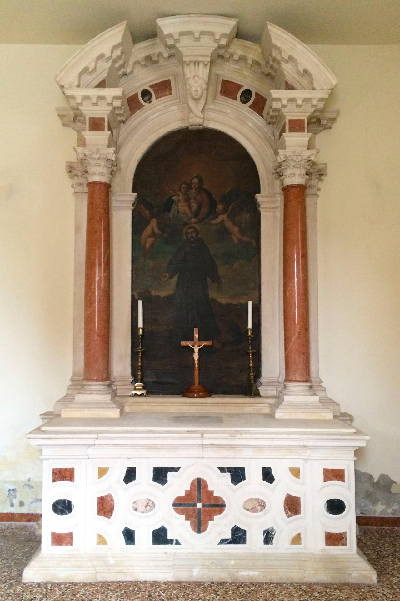 Conselve_altare dell'Oratorio di San Francesco