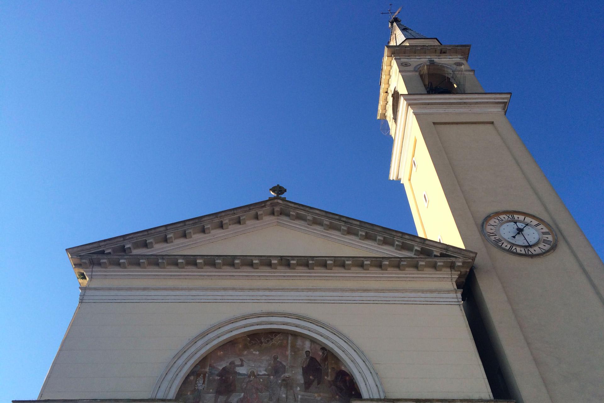 Pernumia_Dettaglio della Chiesa di Santa Giustina