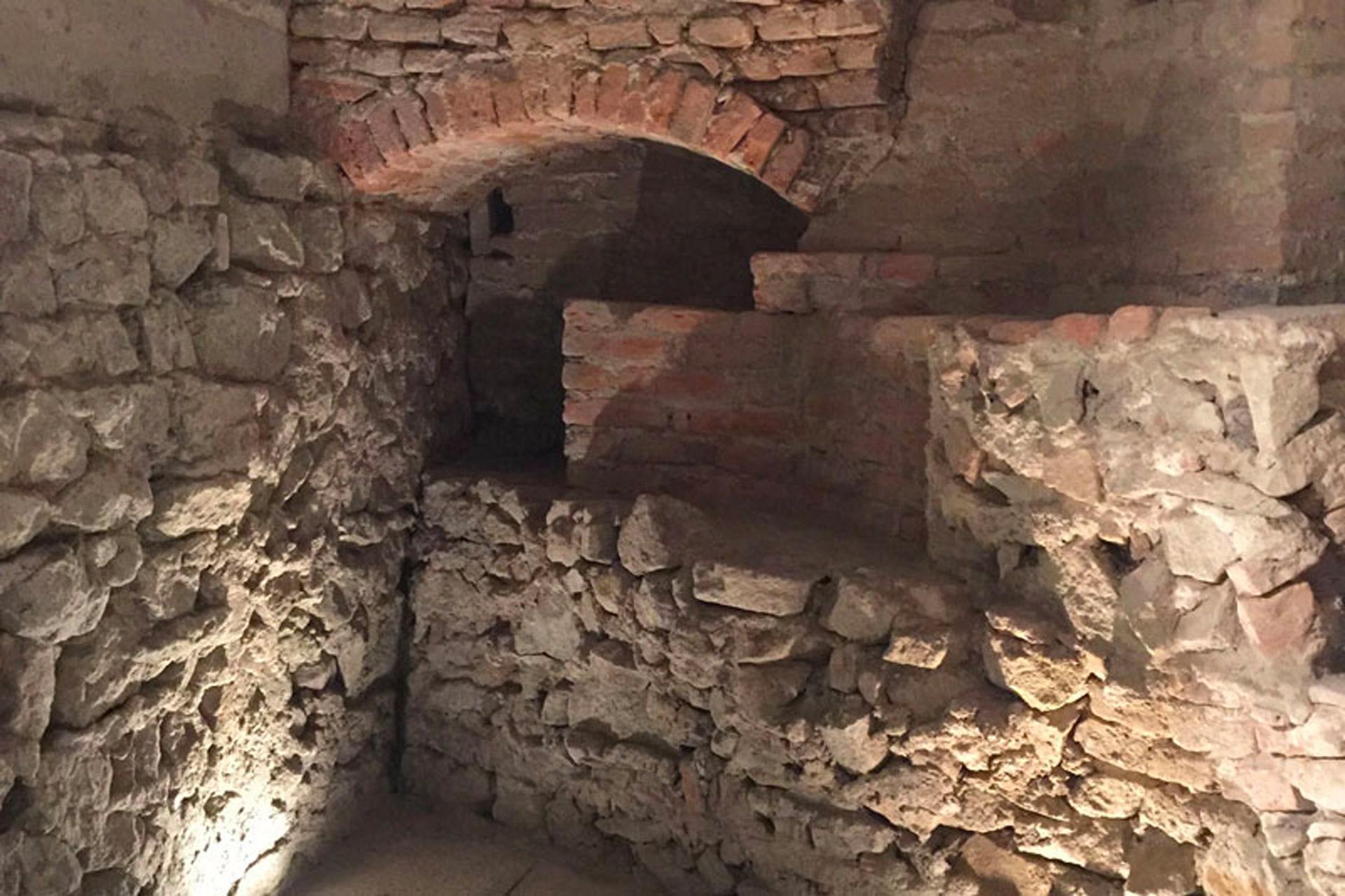 Pernumia_Percorso archeologico presso la Chiesa di Santa Giustina