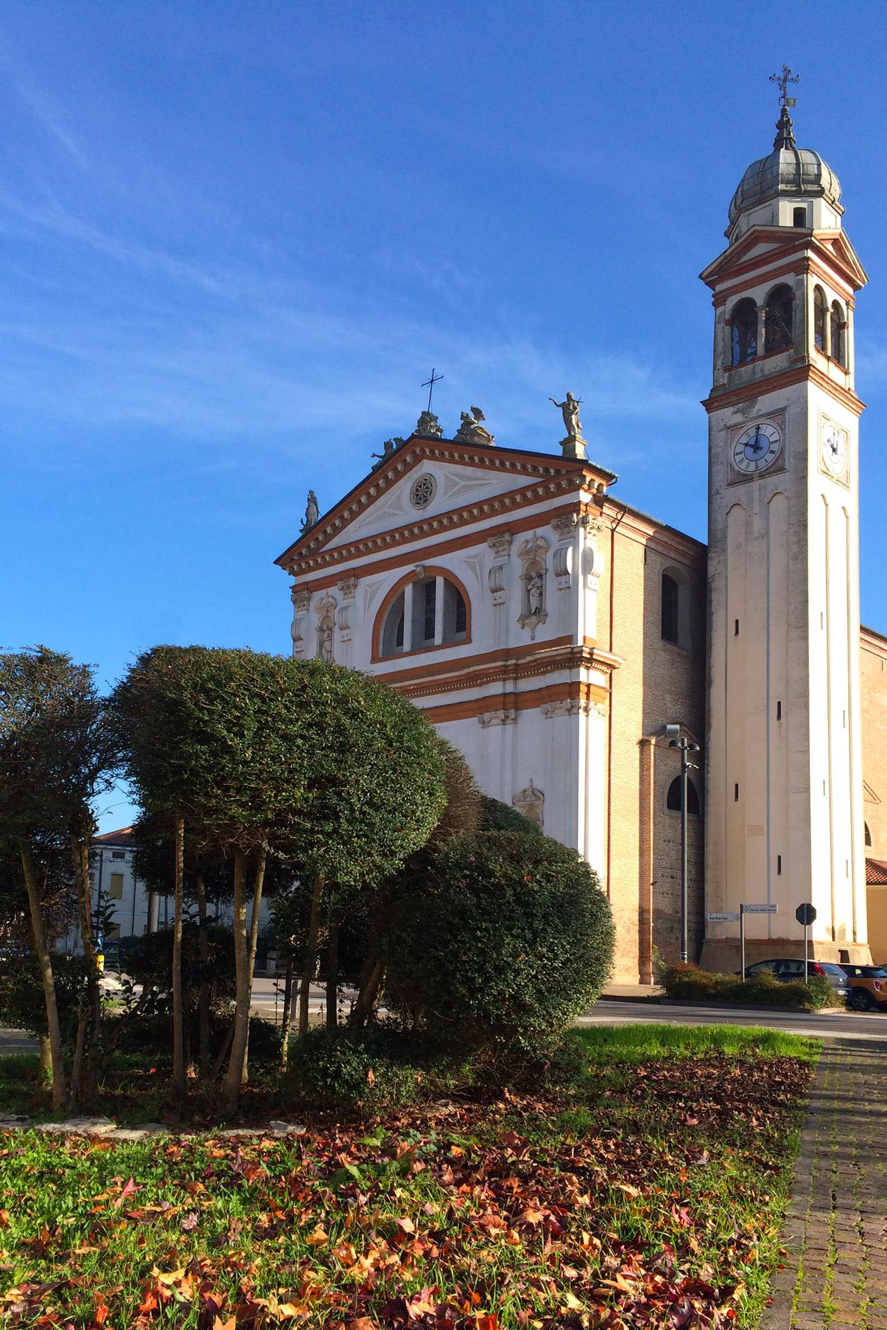 Tribano_Vista della Chiesa di San Martino